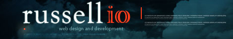 Russell IO - Web Design and Development - Logo